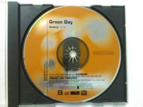 Green Day - Waiting 1trk Promo Cd Single Cs162