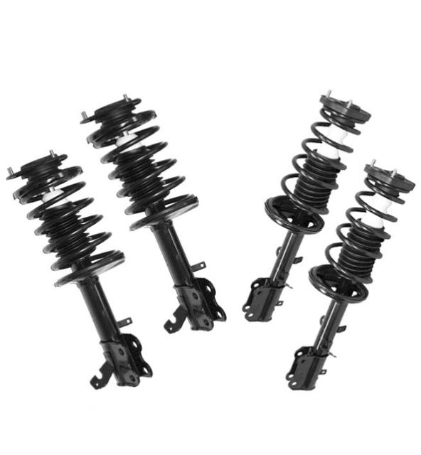 toyota corolla chevrolet prizm front and rear quick spring