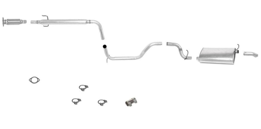 96 99 Taurus Sable 3 0L SOHC Eng Muffler Exhaust Pipe