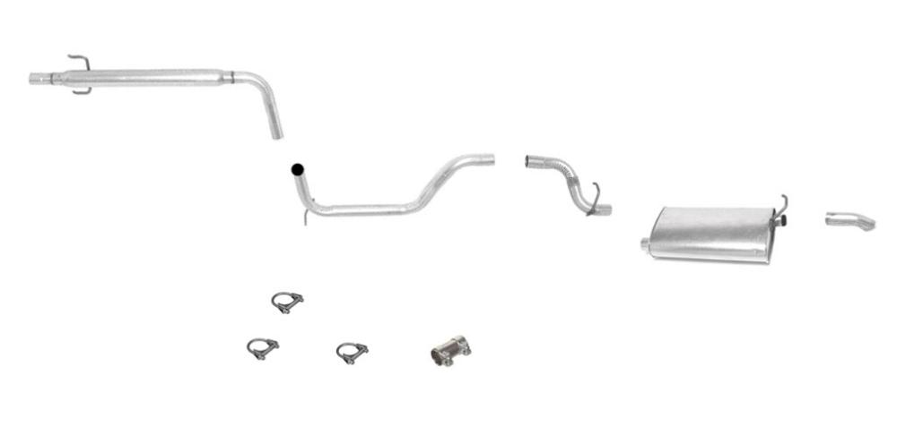 1998 ford taurus exhaust system