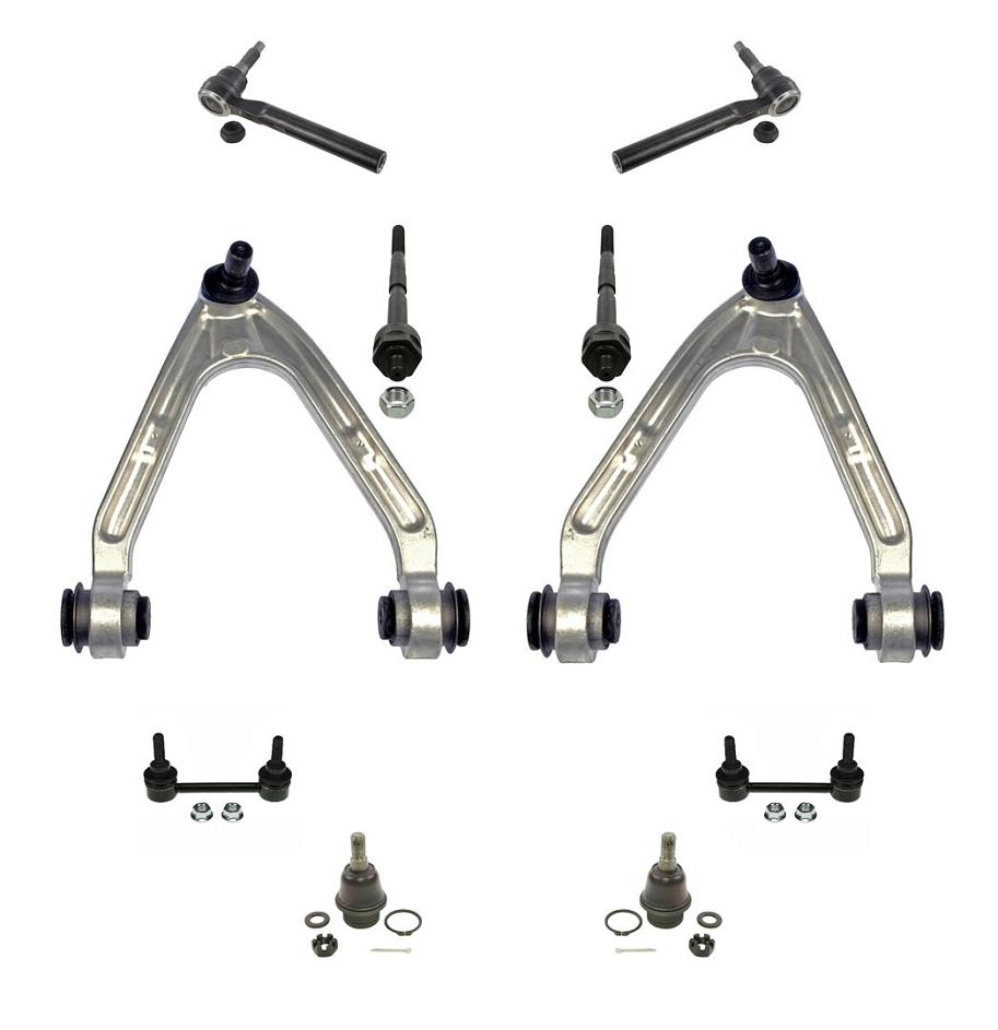 Hummer h pc chassis kit upp arms low ball joints