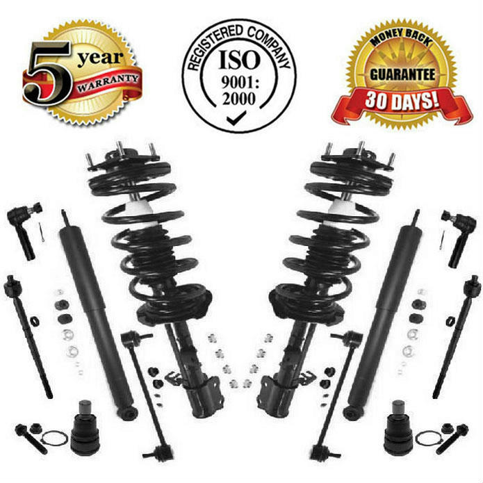 Suspension kit strut coil spring assembly shocks tie