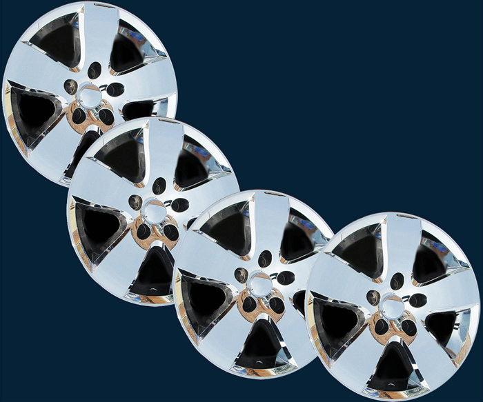 "'09 13 Dodge RAM SLT 1500 20"" 5 Spoke Chrome Wheel Skins New Set 4 Imp 331X"