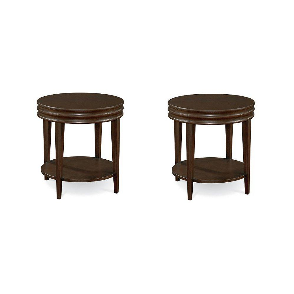 Thomasville furniture blueprint round cocktail table or for Cocktail tables round