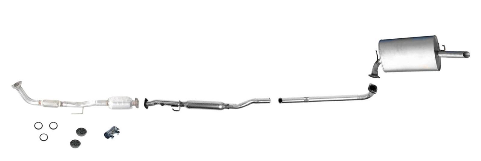 Toyota Rav4 Floor Mats 97-99 Camry 2.2 Converter Muffler Pipe Exhaust System With Federal ...