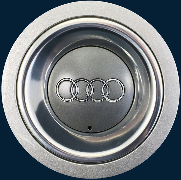 "'03 06 Audi A4 58760 Center Cap for 17"" 6 Spoke Alloy Wheel 8H0601165A New"
