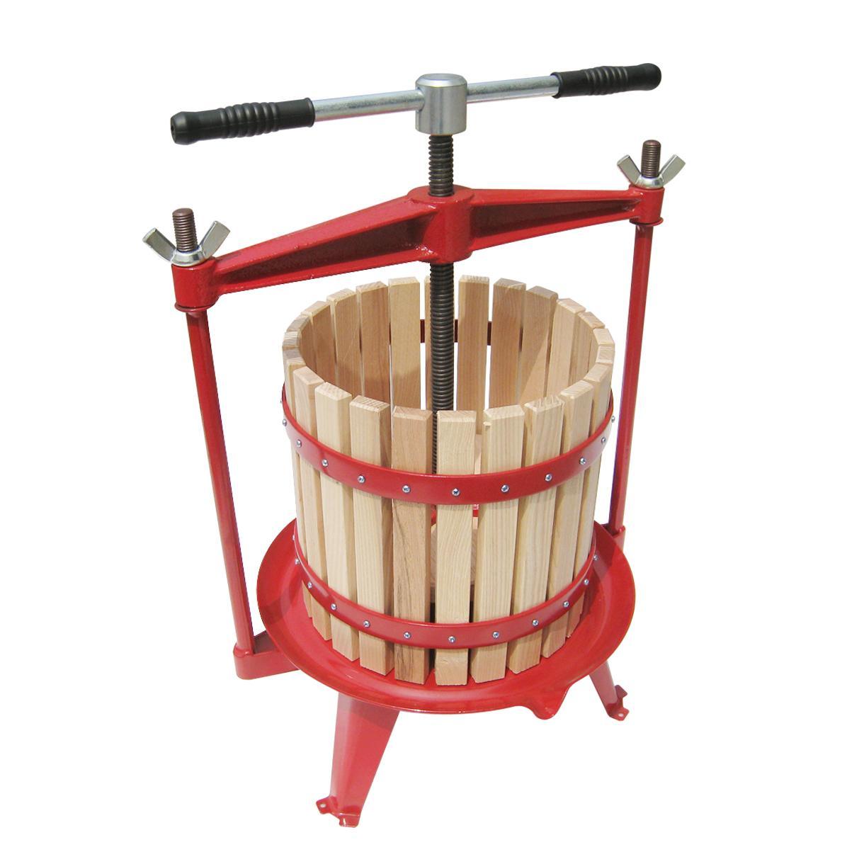 Apple press cider press fruit press wine press juice for Home wine press
