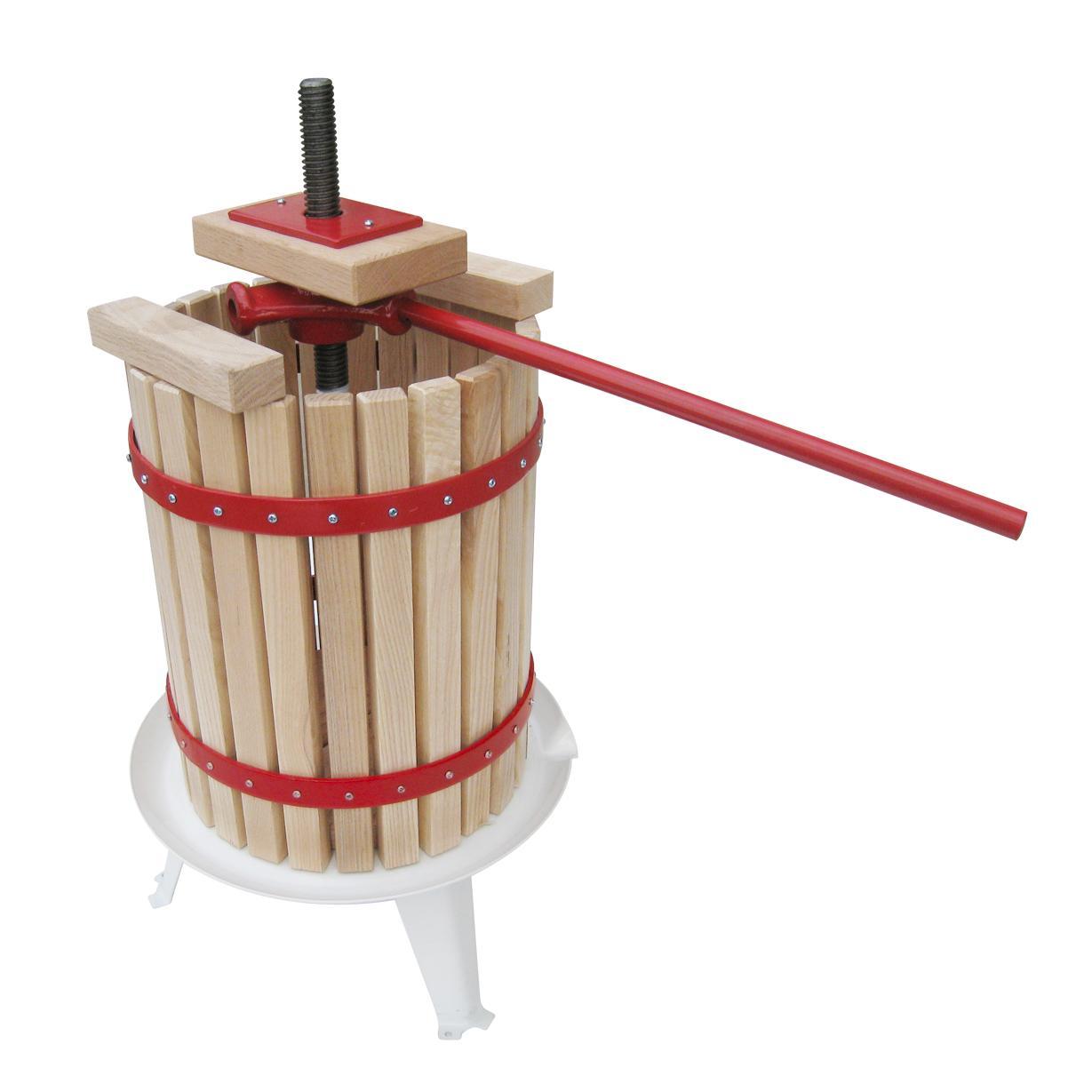 How to Build a Cider Press - DIY 9