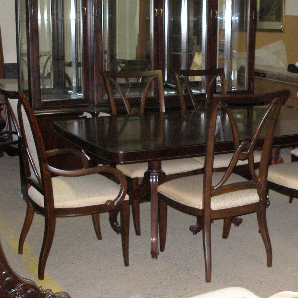 Thomasville Furniture Nocturne Dining Table Studio 455 Chairs Ebay .