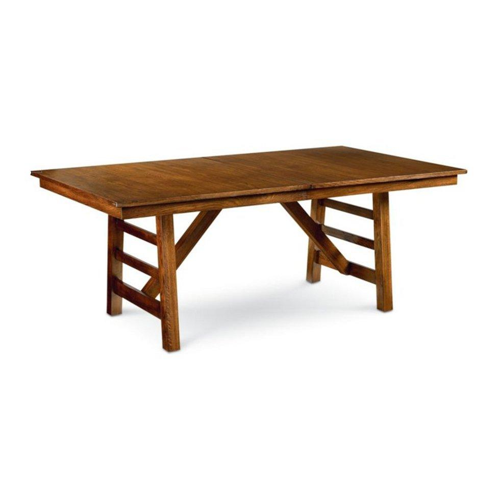 Thomasville furniture coopers landing double pedestal dining table free ship ec ebay - Thomasville kitchen tables ...
