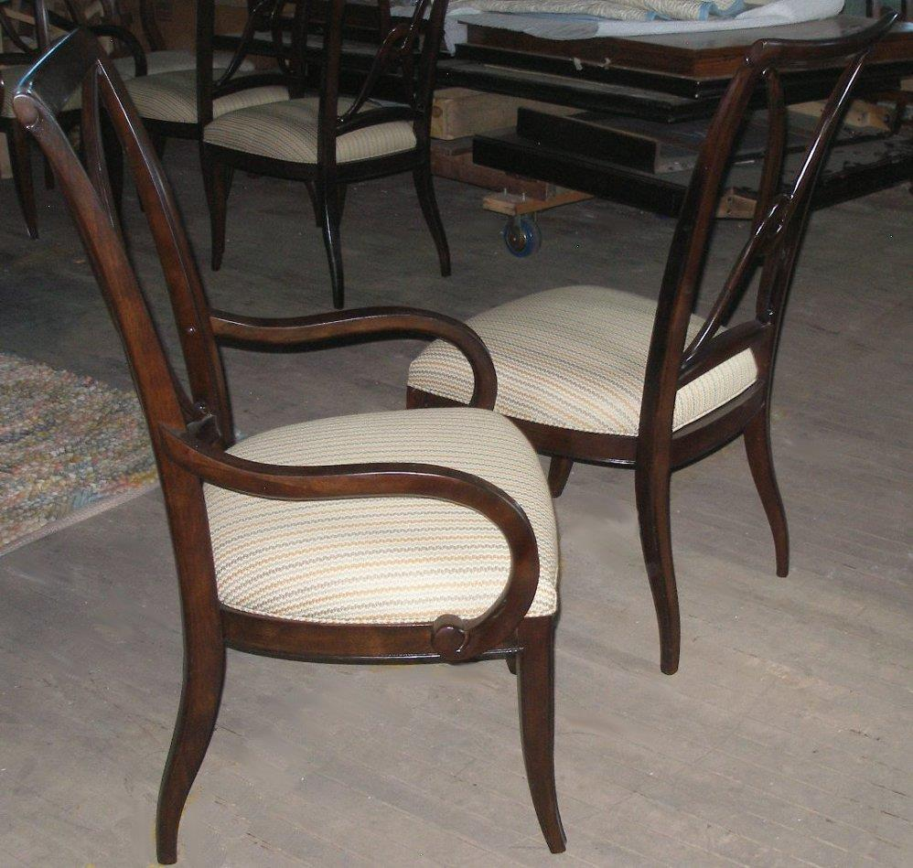 Thomasville Dining Room Chairs: Thomasville Furniture Set Of 6 Studio 455 Dining Chairs