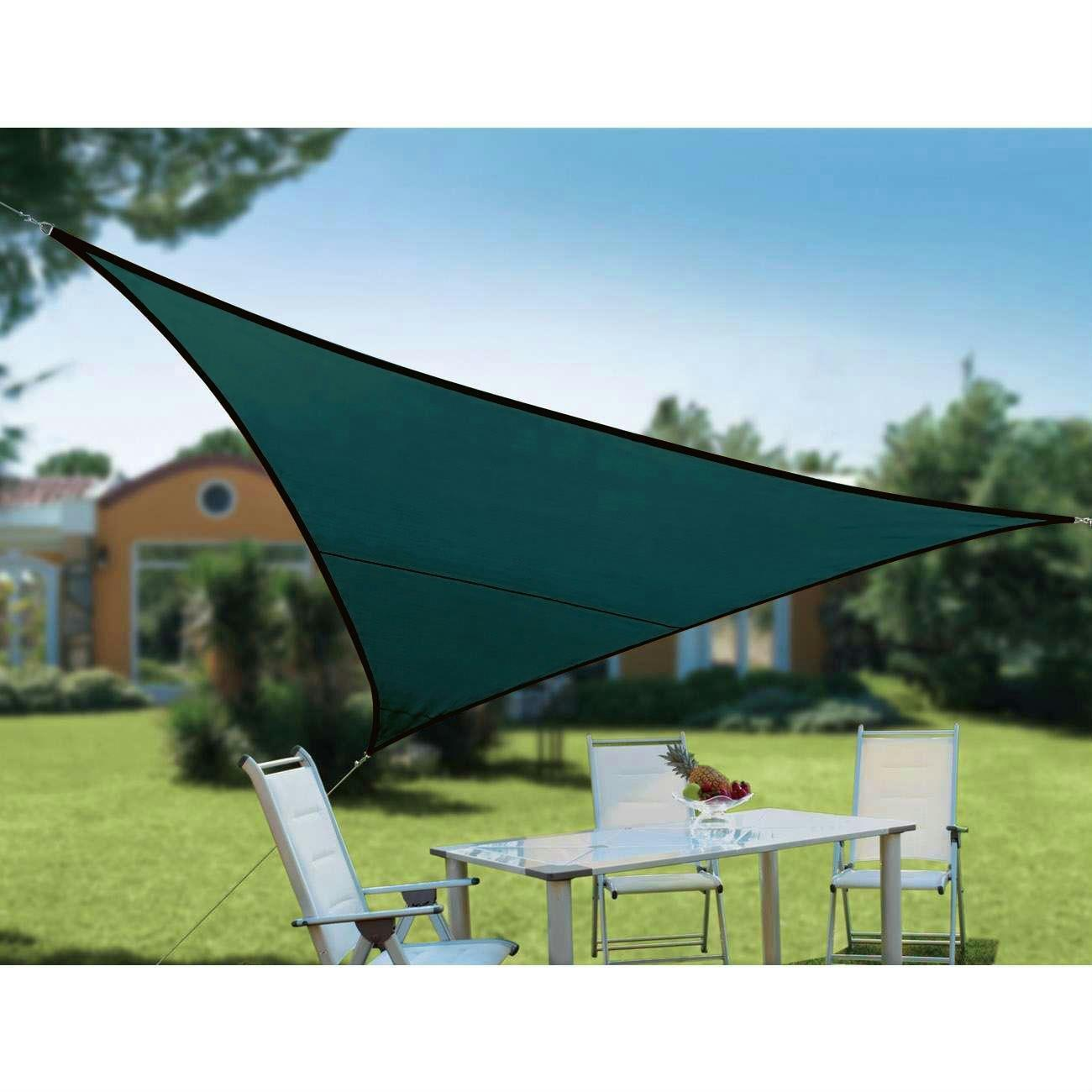 Quictent Triangle Square Rectangle Sun Shade Sail 14 Size Sand Blue
