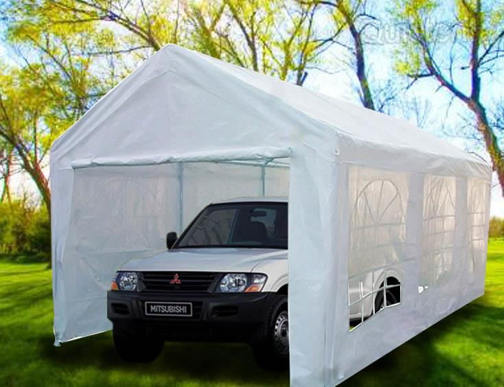 Quictent 20 X10 Heavy Duty Carport Garage Car