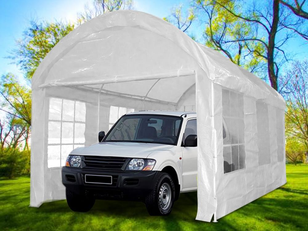 Quictent-20-x10-Heavy-Duty-Carport-Garage-Car- & Quictent® 20 x10 Heavy Duty Carport Garage Car Shelter Storage ...
