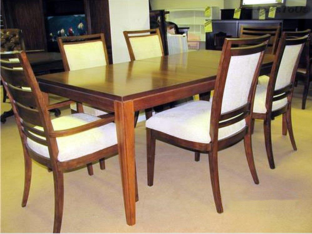 Thomasville dining table and chairs thomasville dining for Dining room tables thomasville