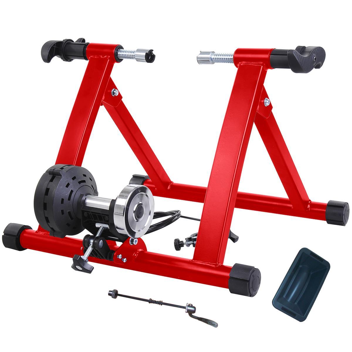 MAGNETIC 8 RESISTANCE LEVEL INDOOR BIKE TRAINER BICYCLE