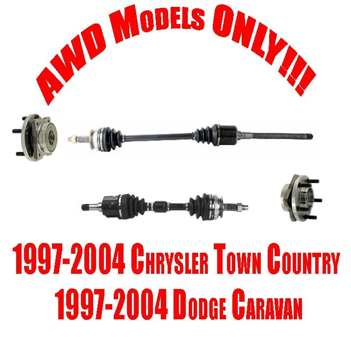 Front Axles And Wheel Hubs For Chrysler Town Country