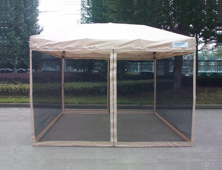 Quictent screen 3 size ez pop up gazebo party tent canopy - Screen netting for gazebo ...