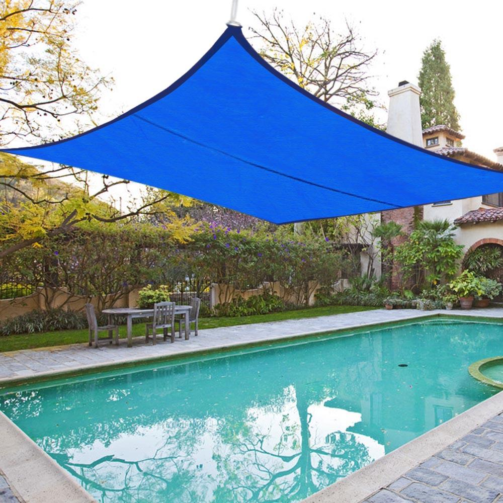 quictent 13 39 x10 39 10 39 x15 39 20 39 x16 39 26 39 x20 39 rectangle sun shade sail outdoor canopy ebay. Black Bedroom Furniture Sets. Home Design Ideas