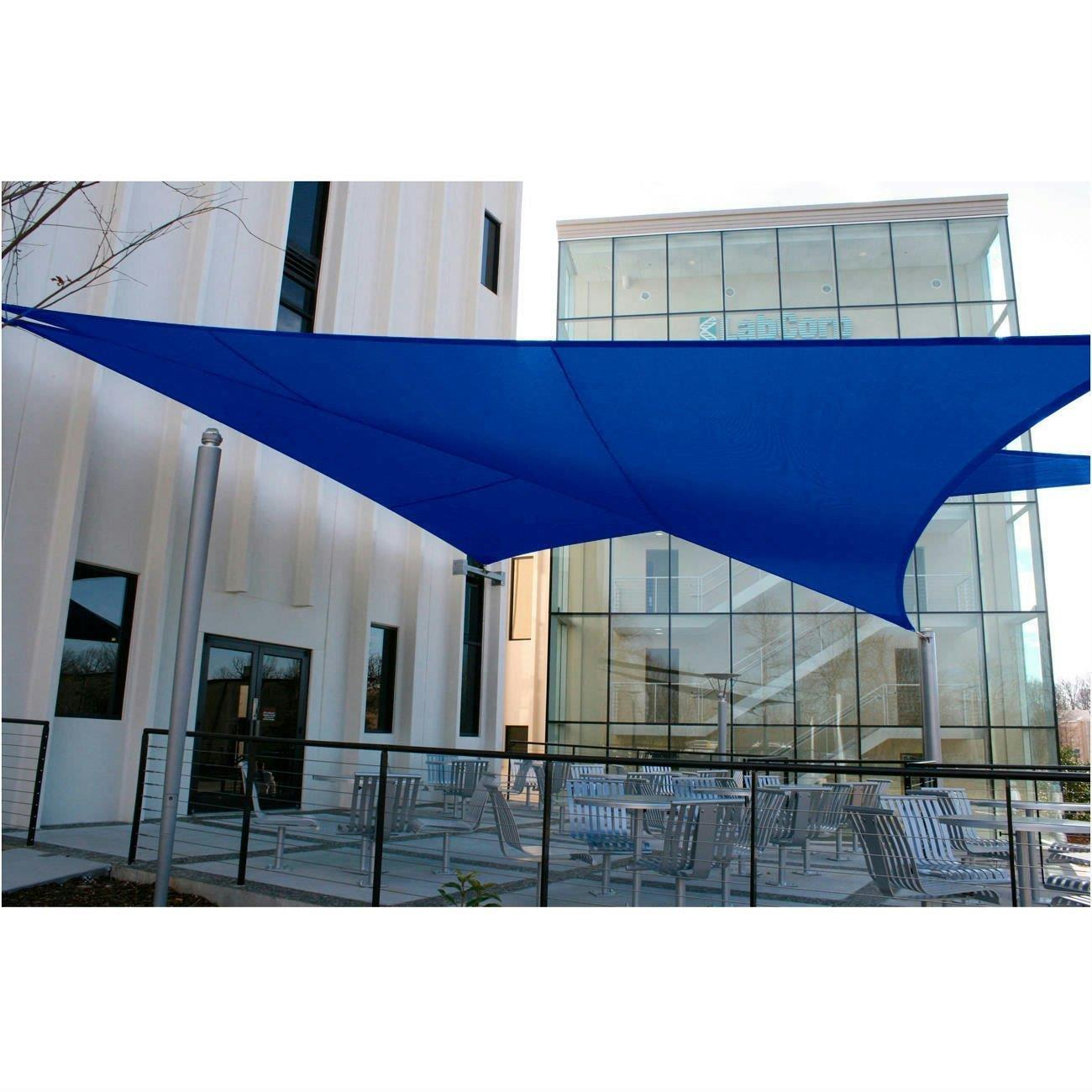 Quictent 12 39 16 5 39 18 39 20 39 triangle sun shade sail outdoor for Shadesails com