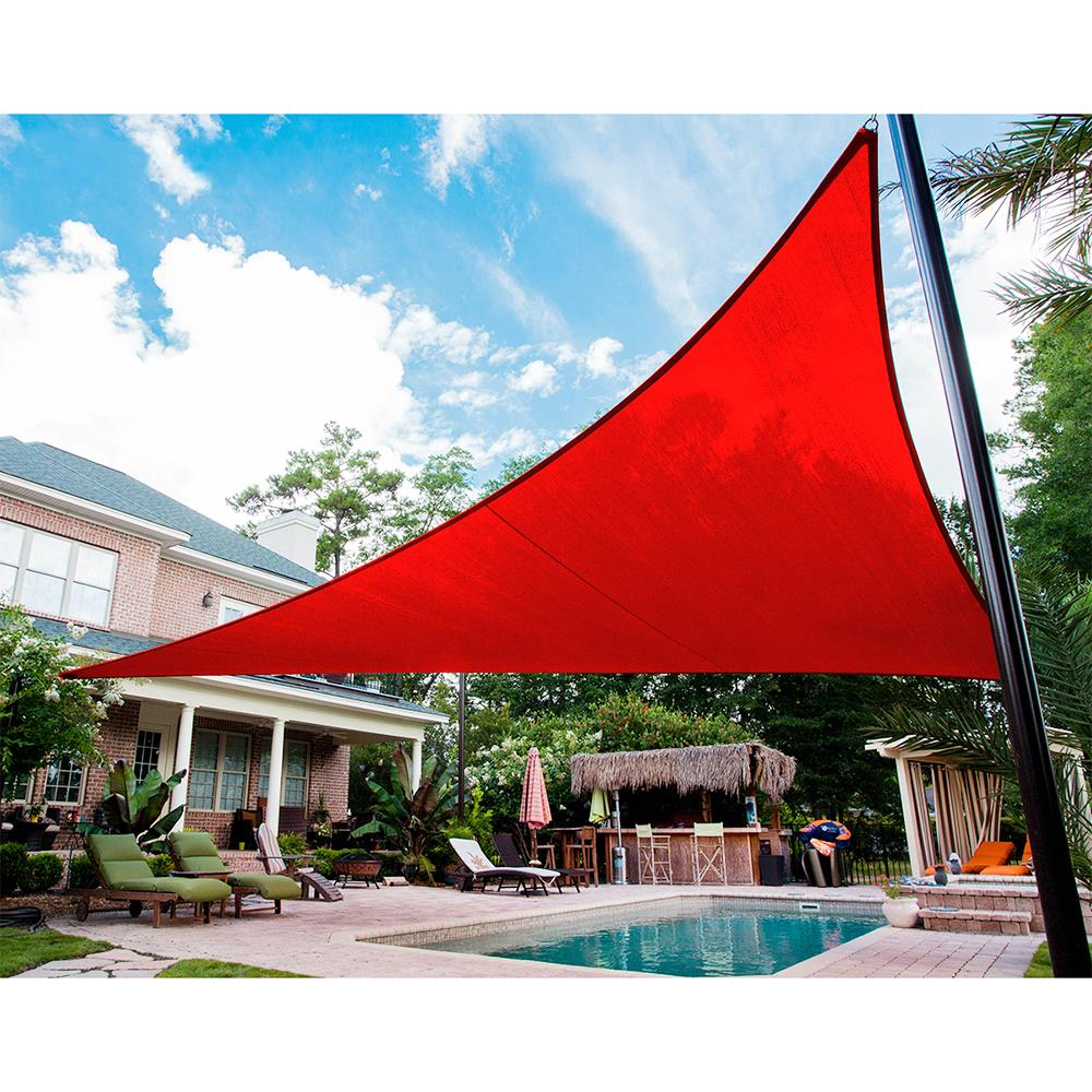 12 16 Canopy : Quictent  triangle sun shade sail outdoor