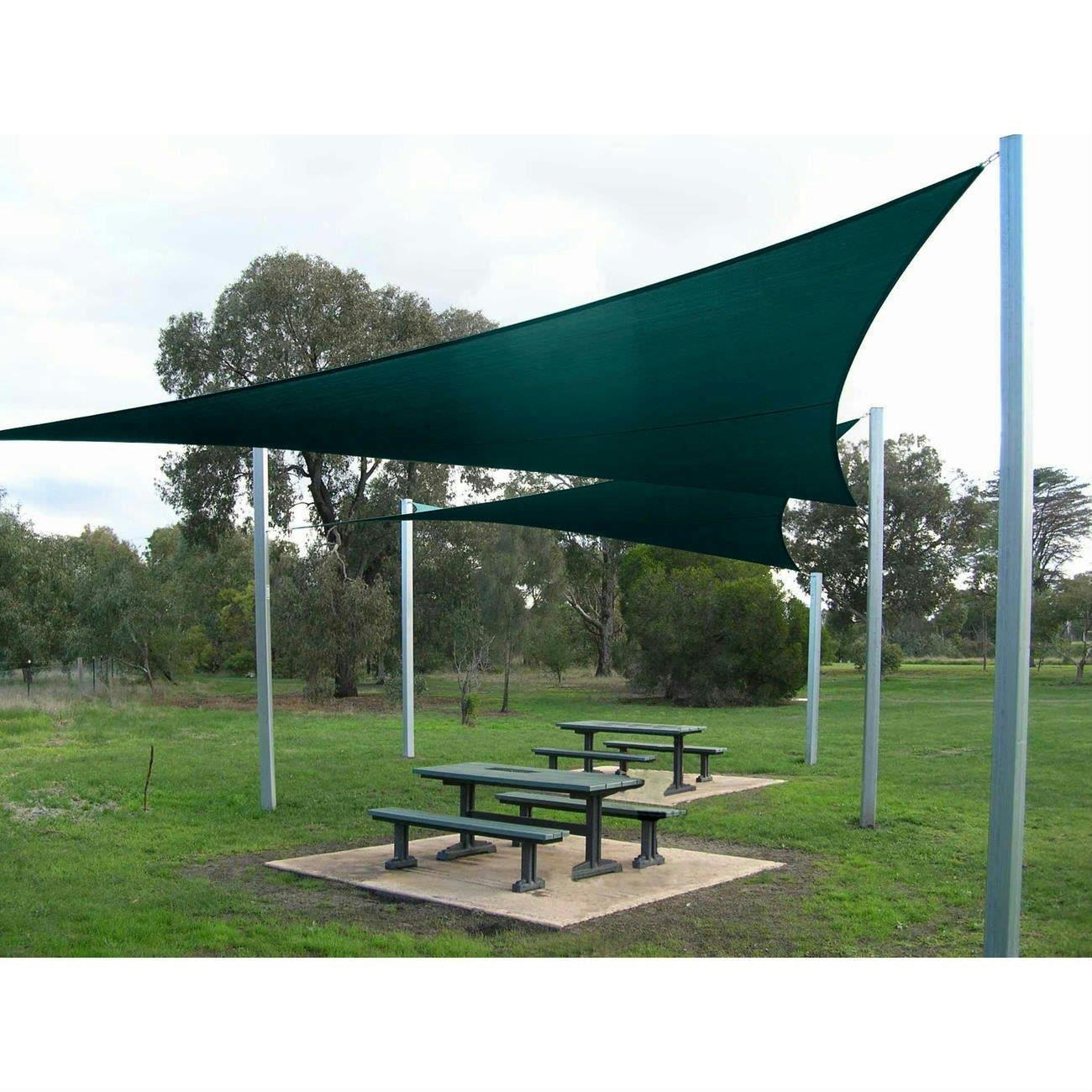 Quictent 12 39 16 5 39 18 39 20 39 Triangle Sun Shade Sail Outdoor