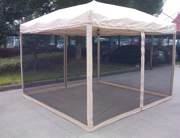 Quictent 8x8 Feet Pop Up Gazebo Party Tent Canopy Mesh