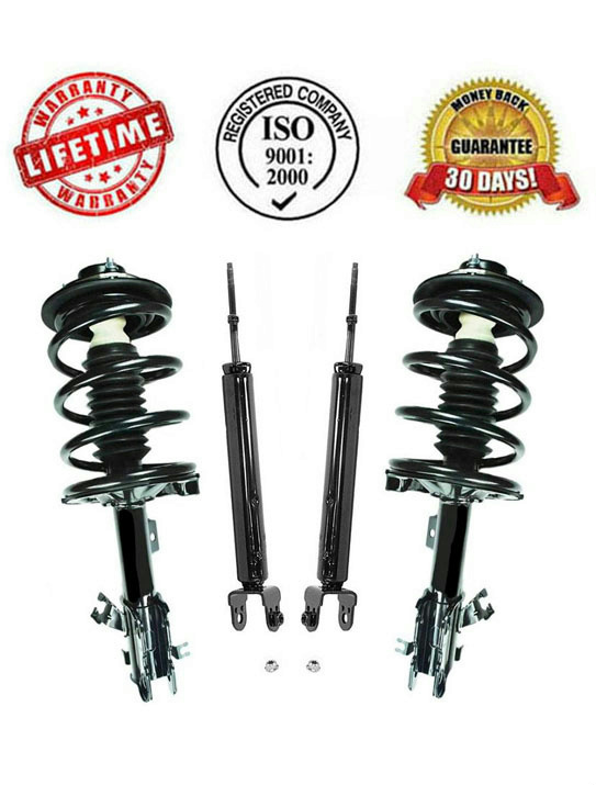 front complete struts and rear shock absorbers for nissan. Black Bedroom Furniture Sets. Home Design Ideas