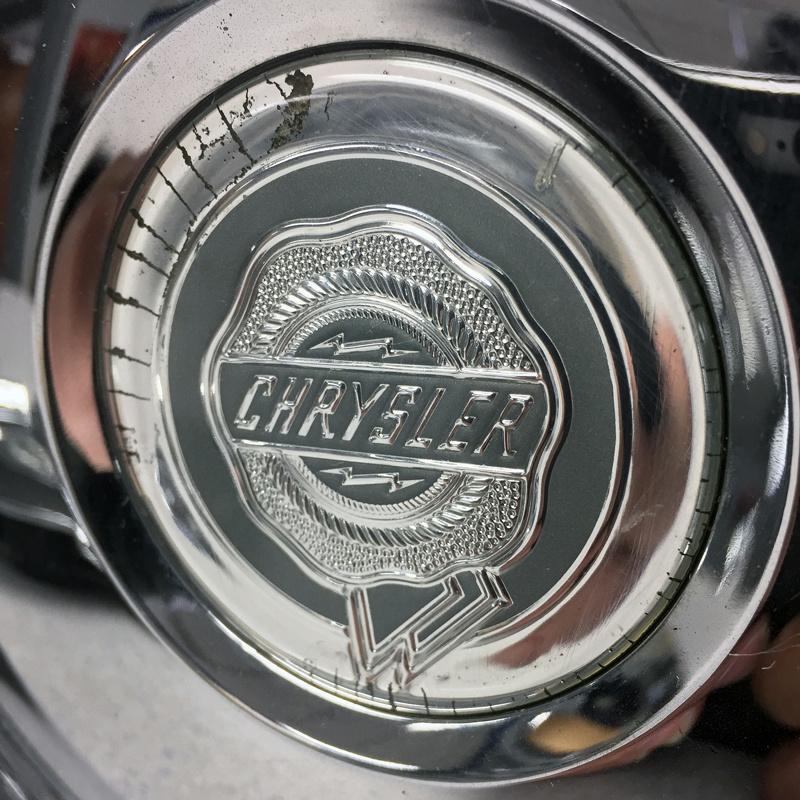 '05 06 Chrysler 300C # 2244 Chrome Wheel Center Caps 18