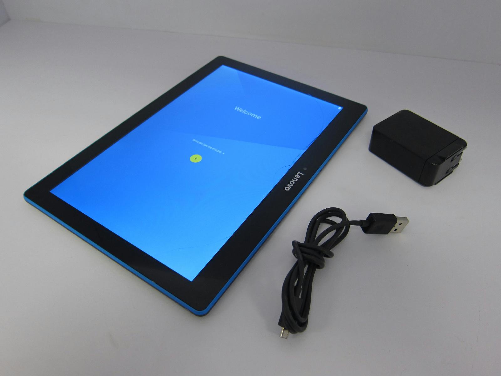 lenovo tab 10 tablet 10 1 16gb tb x103f cracked screen c. Black Bedroom Furniture Sets. Home Design Ideas