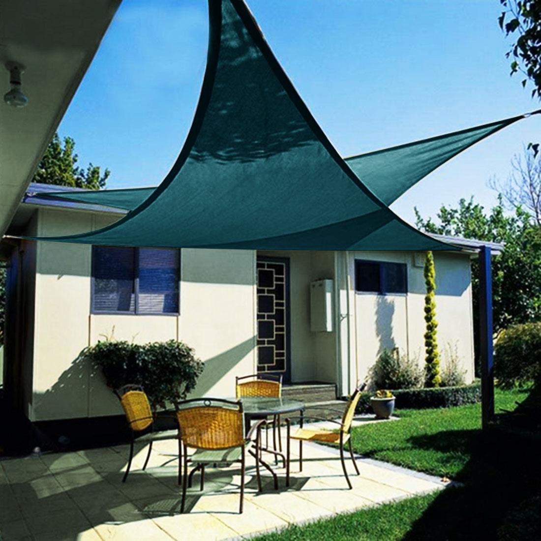 Backyard Sails Shades: Quictent 12/18/20 FT Triangle Sun Shade Sail Patio Pool