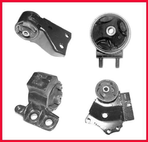 2000 Kia Spectra Suspension: Engine Motor Transmission Mount Kit Fits 2000-2004 Kia