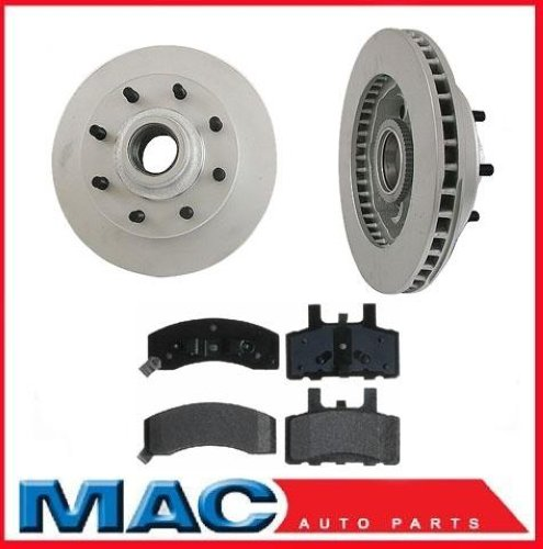 1996-2000 Chevy Express Van G3500 Front Rotors And Pads
