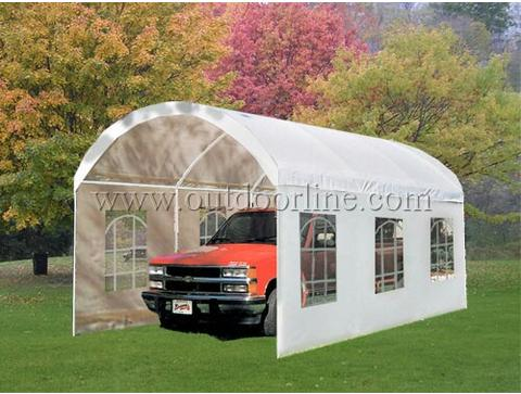 ... Picture 2 of 2 & Peaktop 20 X10 Heavy Duty Carport Garage Storage Car Shelter ...