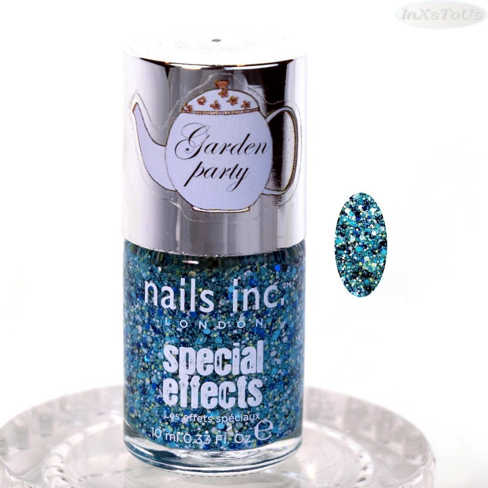 Nails Inc efectos especiales capa superior esmalte de uñas 0.33 OZ ...